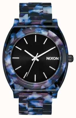 Nixon Acetato contador de tiempo | negro / multi | esfera negra A327-2336-00