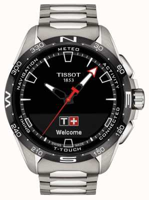 Tissot T-touch connect solar | titanio T1214204405100