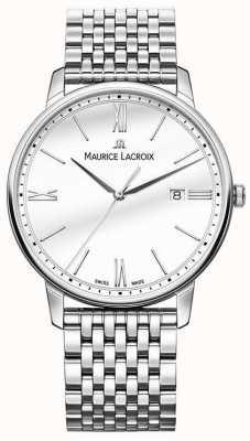 Maurice Lacroix Hombres eliros | pulsera de acero inoxidable | esfera plateada EL1118-SS002-113-2