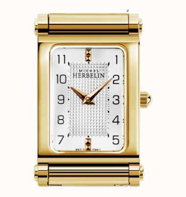 Michel Herbelin Antarès | esfera de reloj chapada en oro solamente H.17048/P28