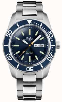 Ball Watch Company Ingeniero maestro ii | herencia de skindiver | esfera azul | pulsera de acero inoxidable DM3308A-S1C-BE