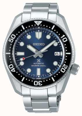 Seiko Reinterpretación de Prospex 1968 | pulsera de titanio | esfera azul SPB187J1