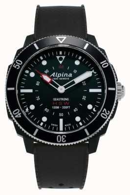 Alpina Seastrong   reloj inteligente de relojería   correa de silicona negra AL-282LBB4V6
