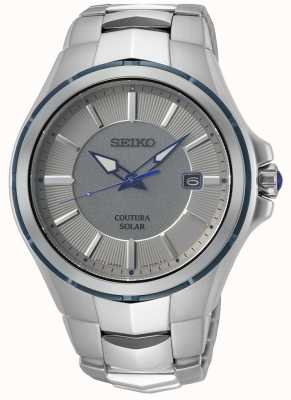 Seiko Coutura | pulsera de acero inoxidable | esfera gris / plateada SNE565P9