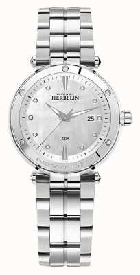 Michel Herbelin Newport | pulsera de acero inoxidable para mujer 14288/B89