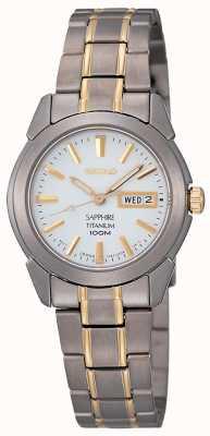 Reloj Seiko Titanio Señora SXA115P1
