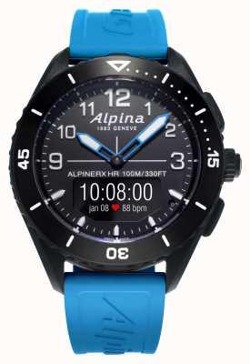 Alpina | alpinerx vivo | correa de caucho azul | AL-284LBBW5AQ6
