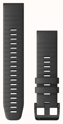 Garmin Quickfit 22 silicona gris pizarra, herrajes negros 010-12863-22