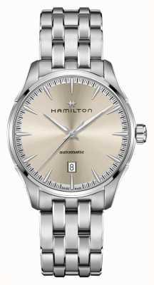Hamilton Jazzmaster   auto   pulsera de acero inoxidable   esfera de champán H32475120