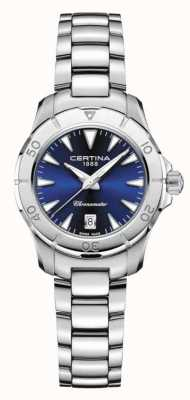Certina Damas ds action esfera azul 200m C0329511104100