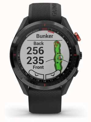 Garmin Enfoque s62 | gps de golf | bisel cerámico | silicona negra 010-02200-00