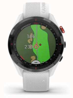 Garmin Enfoque s62 | golf | gps | bisel de cerámica | silicona blanca 010-02200-01