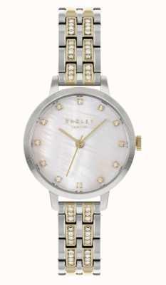Radley | mujer | pulsera de acero bicolor | esfera blanca | RY4559