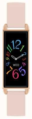 Reflex Active Reloj inteligente Serie 2 | pantalla táctil a color | correa de cuero rosa RA02-2006
