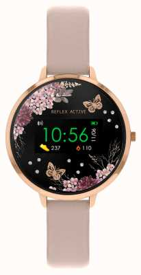 Reflex Active Reloj inteligente Serie 3 | correa rosa nude RA03-2014