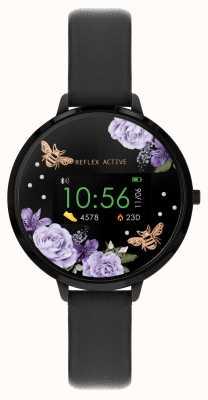 Reflex Active Reloj inteligente Serie 3 | correa negra RA03-2018