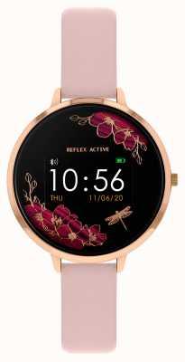 Reflex Active Reloj inteligente Serie 3 | correa rosa nude RA03-2038