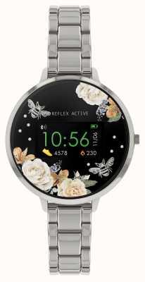 Reflex Active Reloj inteligente Serie 3 | pulsera de acero inoxidable RA03-4007