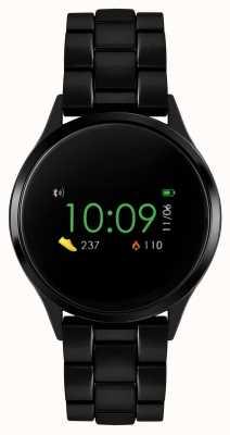 Reflex Active Reloj inteligente Serie 4 | pantalla táctil a color | pulsera de acero ip negro RA04-3000