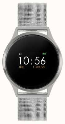 Reflex Active Reloj inteligente Serie 4 | pantalla táctil a color | pulsera de malla de acero inoxidable RA04-3001