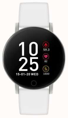 Reflex Active Reloj inteligente Serie 5 | monitor de recursos humanos | pantalla táctil a color | correa blanca RA05-2019