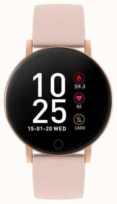 Reflex Active Reloj inteligente Serie 5 | monitor de recursos humanos | pantalla táctil a color | correa rosa RA05-2020