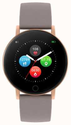 Reflex Active Reloj inteligente Serie 5 | monitor de recursos humanos | pantalla táctil a color | correa de color topo RA05-2034