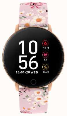 Reflex Active Reloj inteligente Serie 5 | monitor de recursos humanos | pantalla táctil a color | correa rosa RA05-2062
