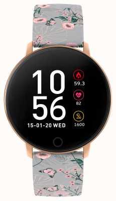 Reflex Active Reloj inteligente Serie 5 | monitor de recursos humanos | pantalla táctil a color | correa gris RA05-2064