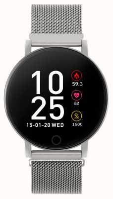 Reflex Active Reloj inteligente Serie 5 | monitor de recursos humanos | pantalla táctil a color | malla de acero RA05-4015