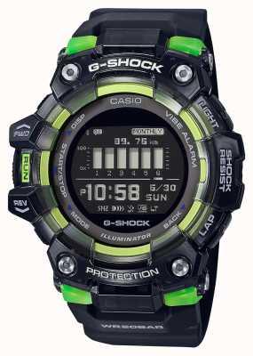 Casio G-shock | serie deportiva vital | correa de silicona negra | esfera negra GBD-100SM-1ER