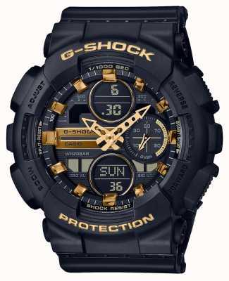Casio Deportes unisex | g-shock | correa de resina negra | dal negro | GMA-S140M-1AER