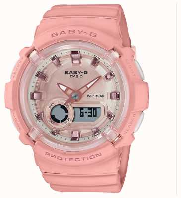 Casio Baby-g | correa de silicona rosa coral | BGA-280-4AER