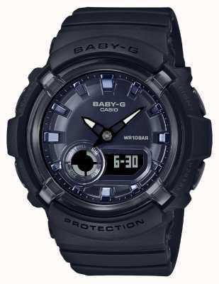 Casio Baby-g | correa de resina negra | esfera negra | BGA-280-1AER