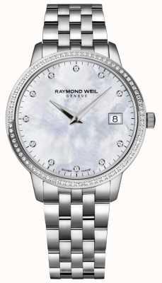 Raymond Weil Toccata | esfera de nácar con diamantes para mujer | 5388-STS-97081