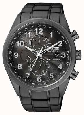 Citizen Temporizador mundial de eco-drive para hombres en AT8105-53E