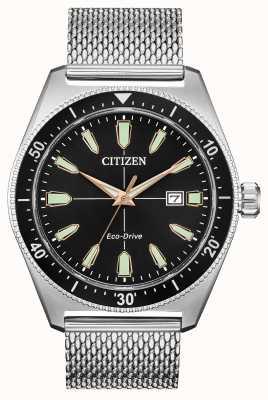 Citizen Hombre brycen eco-drive acero inoxidable AW1590-55E