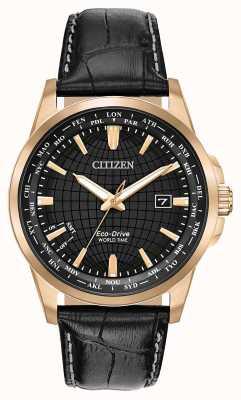 Citizen Reloj mundial eco-drive wr50 para hombre BX1003-08E
