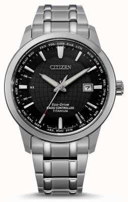 Citizen El mundo controlado por radio eco-drive de los hombres perpetuo en CB0190-84E