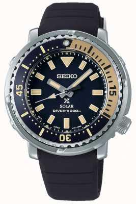 Seiko Prospex | correa de silicona negra | esfera negra SUT403P1