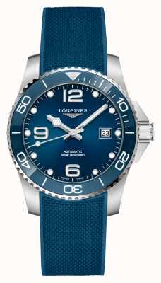 Longines Correa azul hydroconquest para hombre automática de 41 mm L37814969