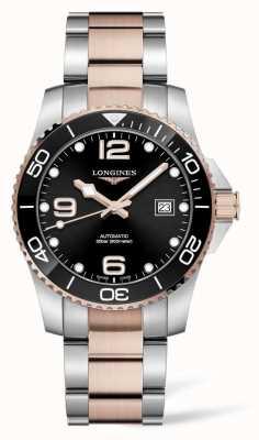 Longines Reloj automático Hydroconquest de dos colores L37813587