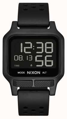 Nixon Calor | reloj con correa de caucho completamente negro A1320-001