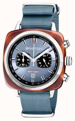 Briston | clubmaster sport | acetato | azul hielo | 20142.SA.TS.25.NIB