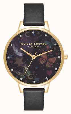 Olivia Burton Demi night garden mariposas cuero vegano OB16WG82