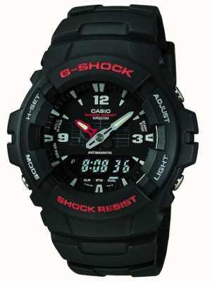 Casio G-shock cronógrafo g-100-1bvmes G-100-1BVMUR