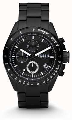 Fossil Caballeros reloj cronógrafo negro CH2601