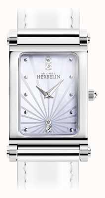 Michel Herbelin Antarès | esfera de reloj de acero inoxidable solamente | números romanos H.17048/59