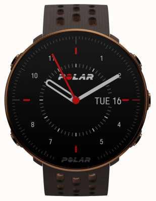 Polar Vantage m2   correa de silicona marrón   caja de cobre   90085163