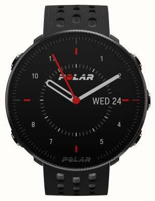 Polar Vantage m2 | correa de silicona negra / gris 90085160